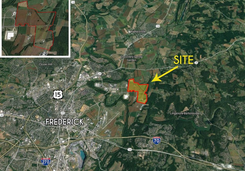 327-Acre Frederick Site Hits The Market With 3M SF Of Potential Industrial Development